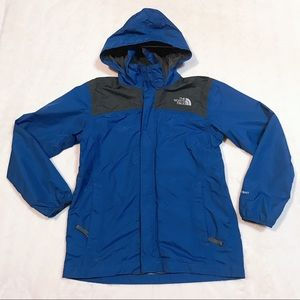 The North Face Hyvent Blue Boys Jacket Size L
